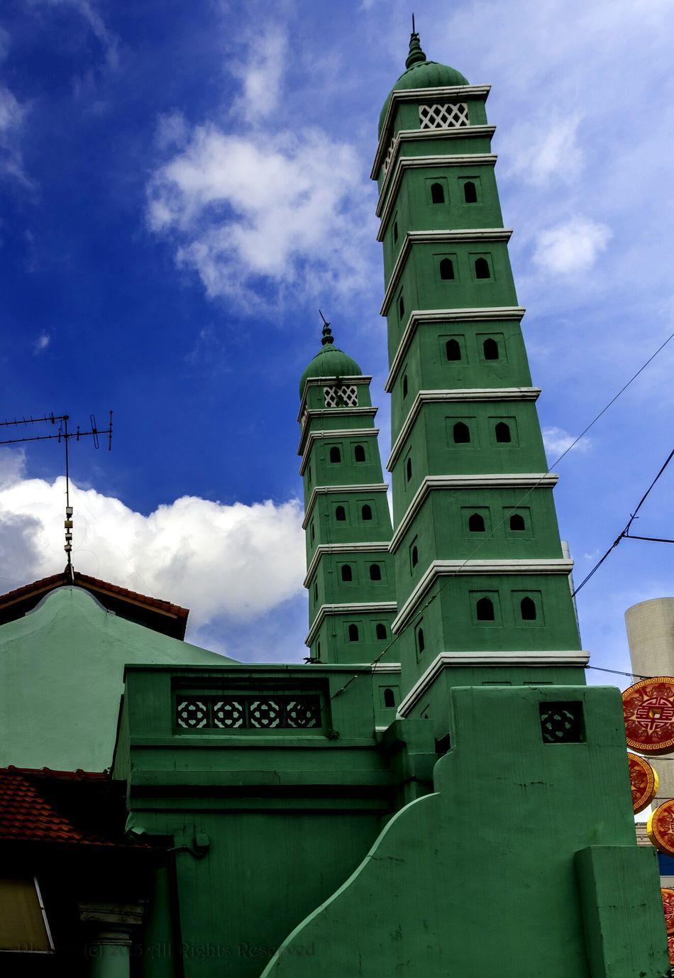 Masjid Chiulia. EyeEm , EyeEmChinatownPhotowalk , Mosque , Heritage , Cny 2015 , Architecture , Faith , Worship