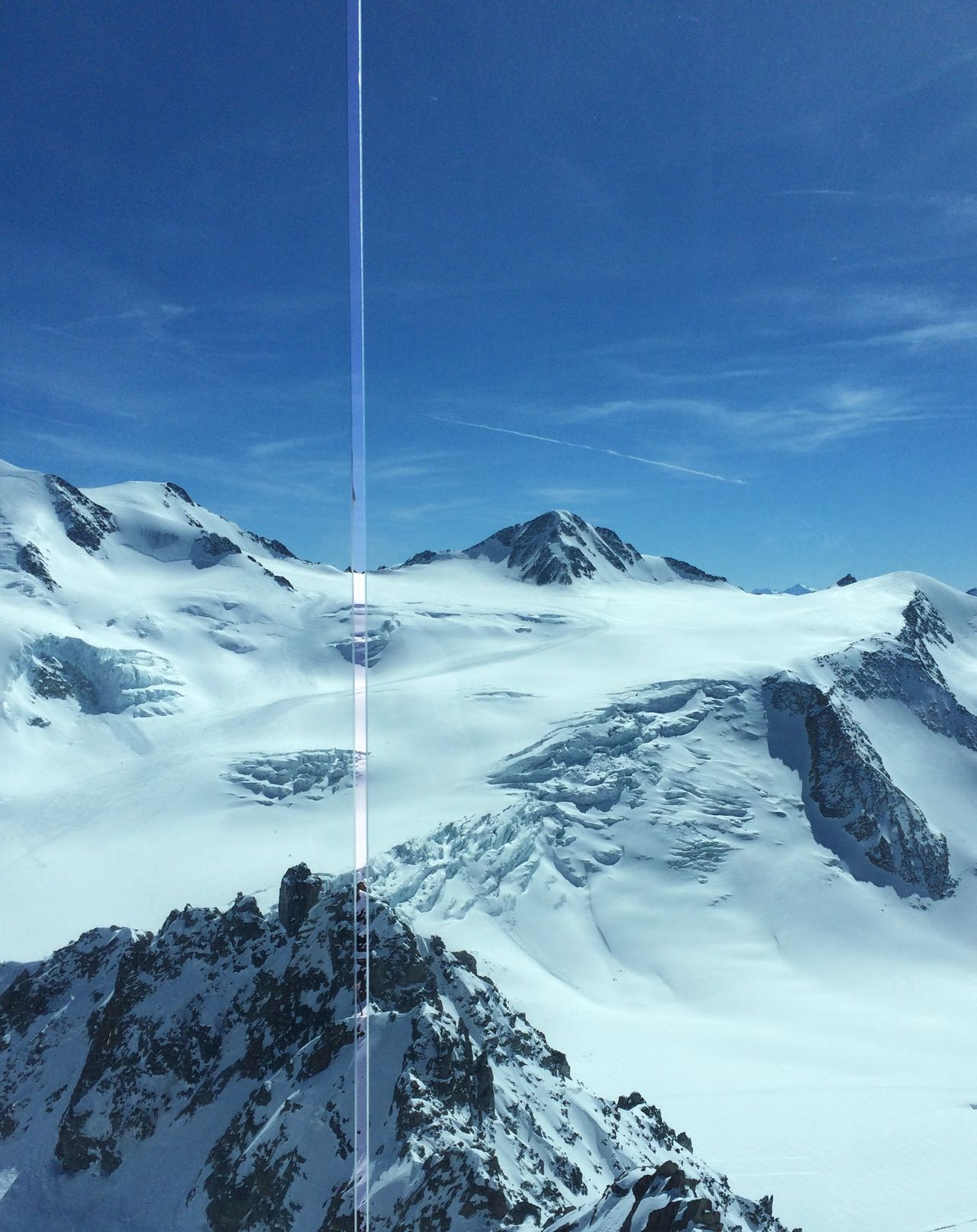 Cobalt Blue By Motorola Enjoying The View Pitztaler Gletscher Restaurant in 3440 m RePicture Travel Ice Age