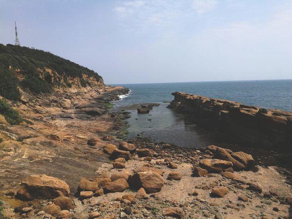 Yehliu Geopark Sea Beach Water Nature Scenics Horizon Over Water Beauty In Nature Outdoors Sky Day Sand Wave No People Living Organism Taiwan Yehliu EyeEm Best Shots EyeEmNewHere EyeEmNewInHere People EyeEm Nature Lover