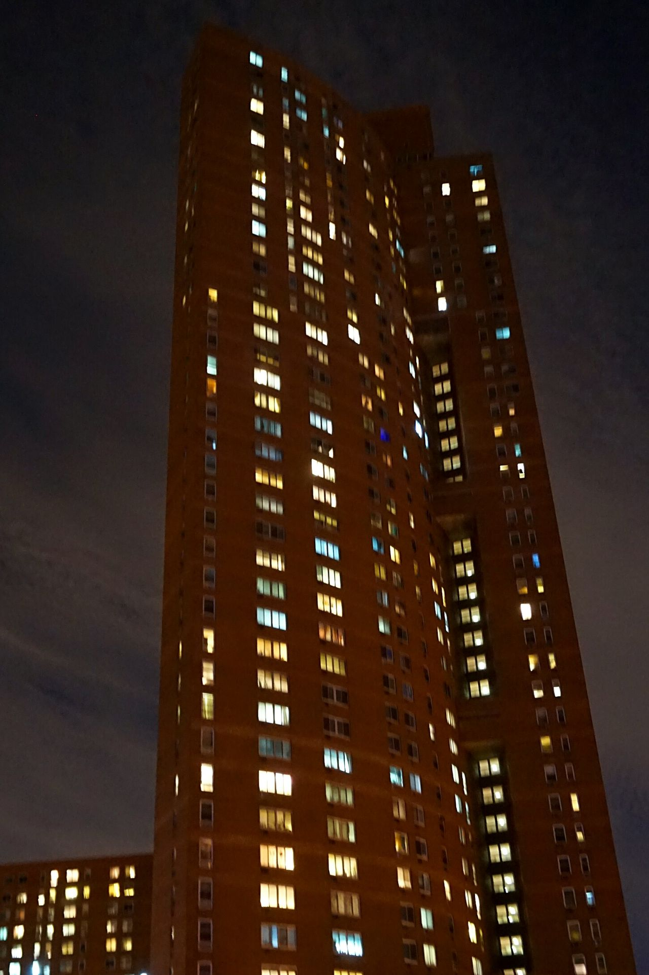 Skyscraper Urban Skyline Futuristic Urbanphotography Urban Exploration No People Building Exterior Illuminated Minimalist Architecture Architecture_collection Cityscape Chinatown New York Apartment Building