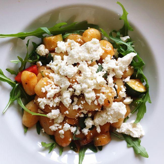 Gnocci Food Lunch Plate Vegetarian Food