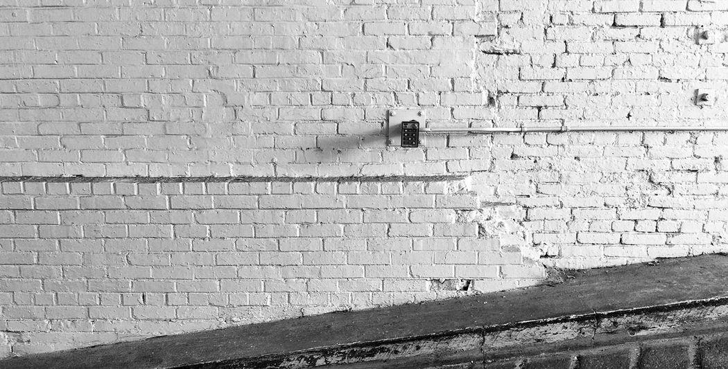 Black & White Whitewash Urban Decay Explore Your Outdoors Brick Wall EyeEm Masterclass Urban