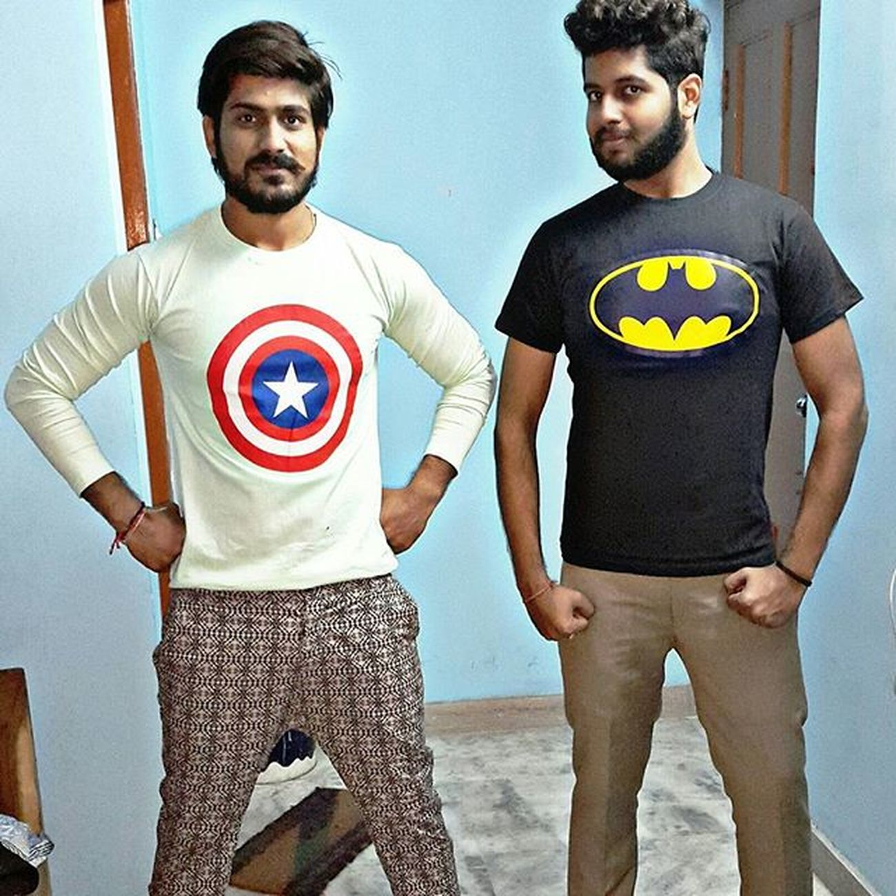 Captianamerica Batman Tees . Collection Of Super Hero Tees😬 . Beards Bearded Beard Beardup Beardedguy Beardmaniac Envybeards Beardthefuckup BeardPowers Superheroes Tflers Instamood Instaupload Smile Love Instagram Beardsofinstagram Beardlove LoveOfBeards