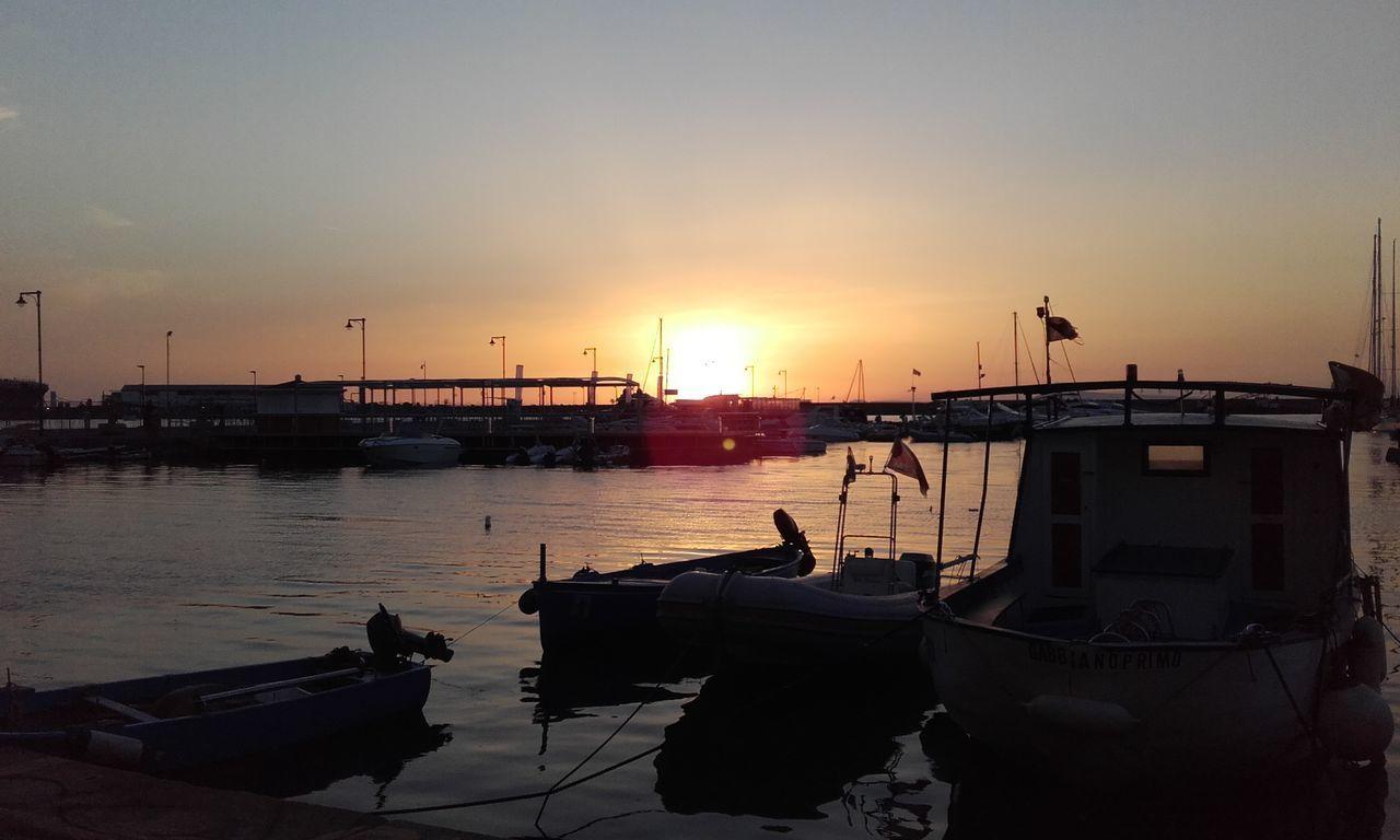 castellammare di stabia (Na) Sunset Horizon Over Water First Eyeem Photo
