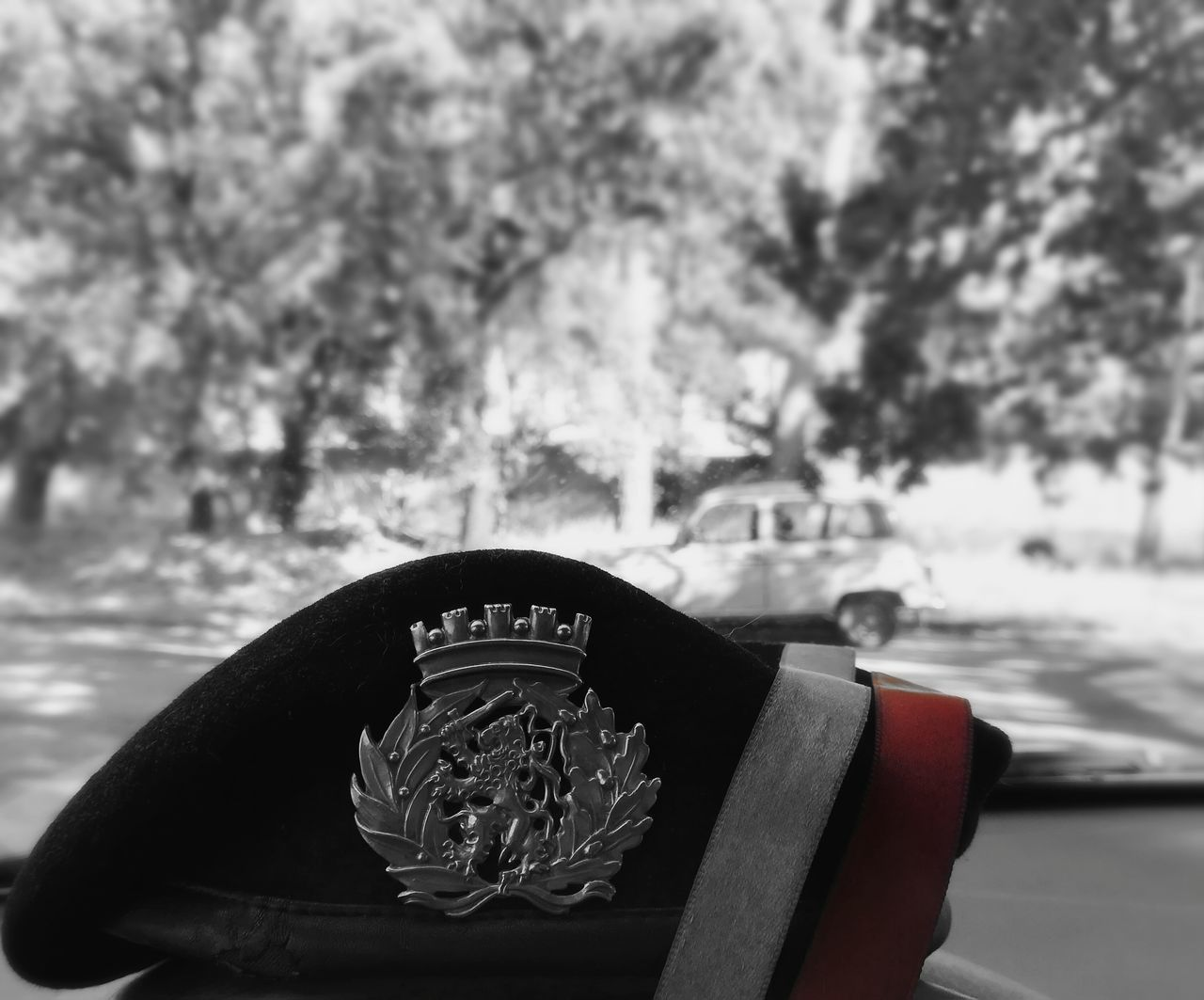 Army Army Life Grayscale Old Car Fromcarwindow Red Color Portuguesearmy Portugal The Photojournalist - 2017 EyeEm Awards