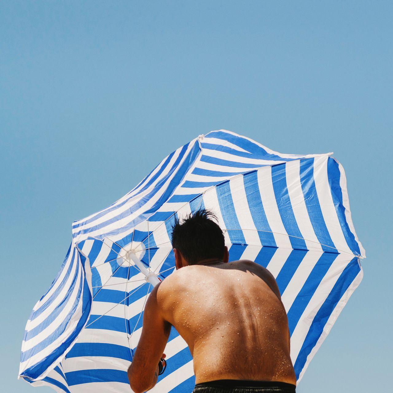 Beautiful stock photos of sydney, Australia, Beach Umbrella, Blue, Clear Sky