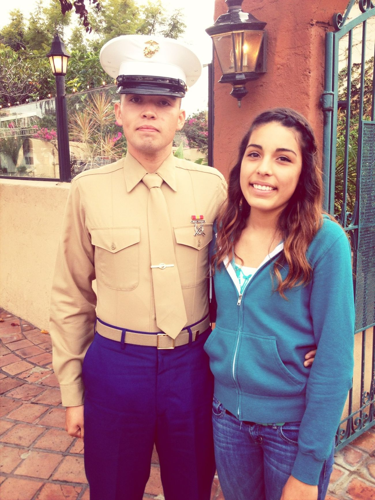 The Marine Of The Family❤ So Proud If Him, Sadly Who Knows When We'll See Him Again