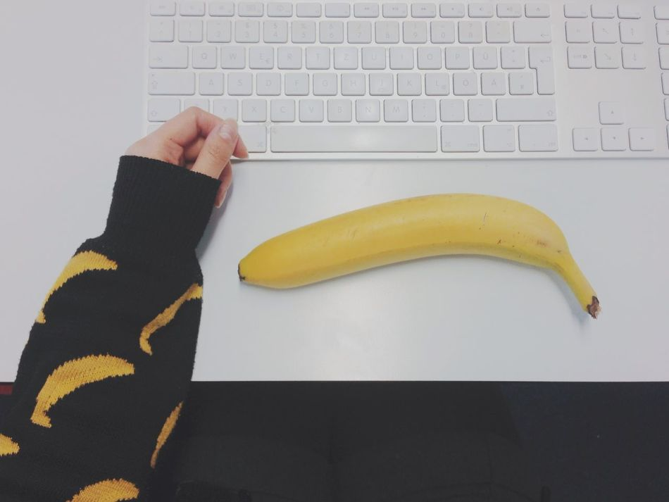Beautiful stock photos of computers, Banana, Close-Up, Computer, Computer Keyboard