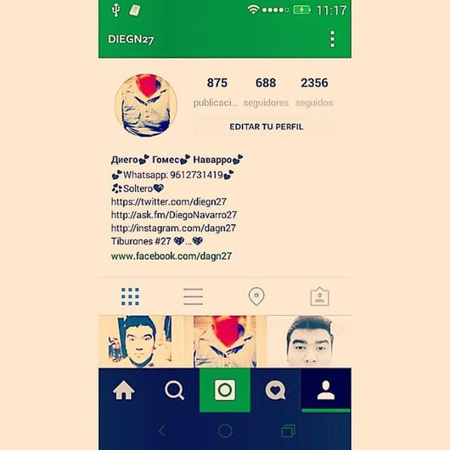 Instagram Instasize Nasville ♥💠💡🔥💥💨💫⭐ @diegn27 Sigameeninstagram ♥...♥