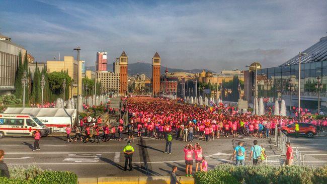 Cursa contra cancer de mama 2014 Barcelona Eye4photography  Solidarity World