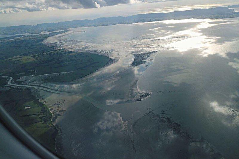 Welcome to Blenheim Sky Water Sea Sea And Sky Blenheim Jetplane Plane Airnz Airnewzealand Windowseat