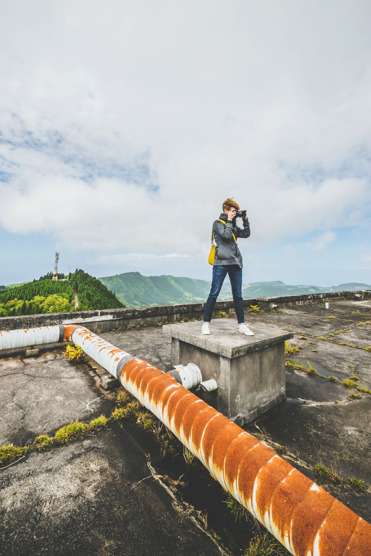 Exploring Explore On The Roof Rooftop Rooftop View  Taking Pictures Monte Palace Azores