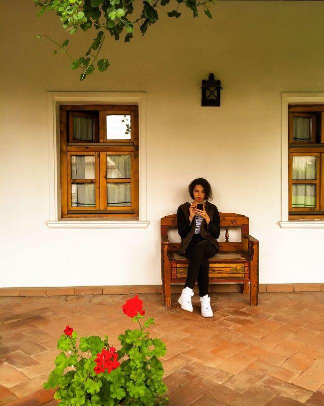 Single. Enjoying Life Relaxing Lady