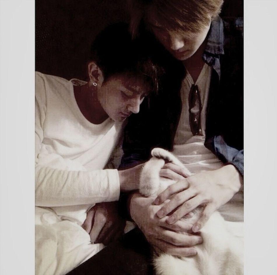 """We're thinking of adopting"" -Oh Sehun Taohun Love"