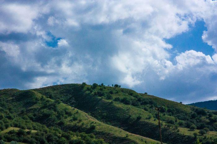 Mountains of Uzbekistan Mountains And Sky