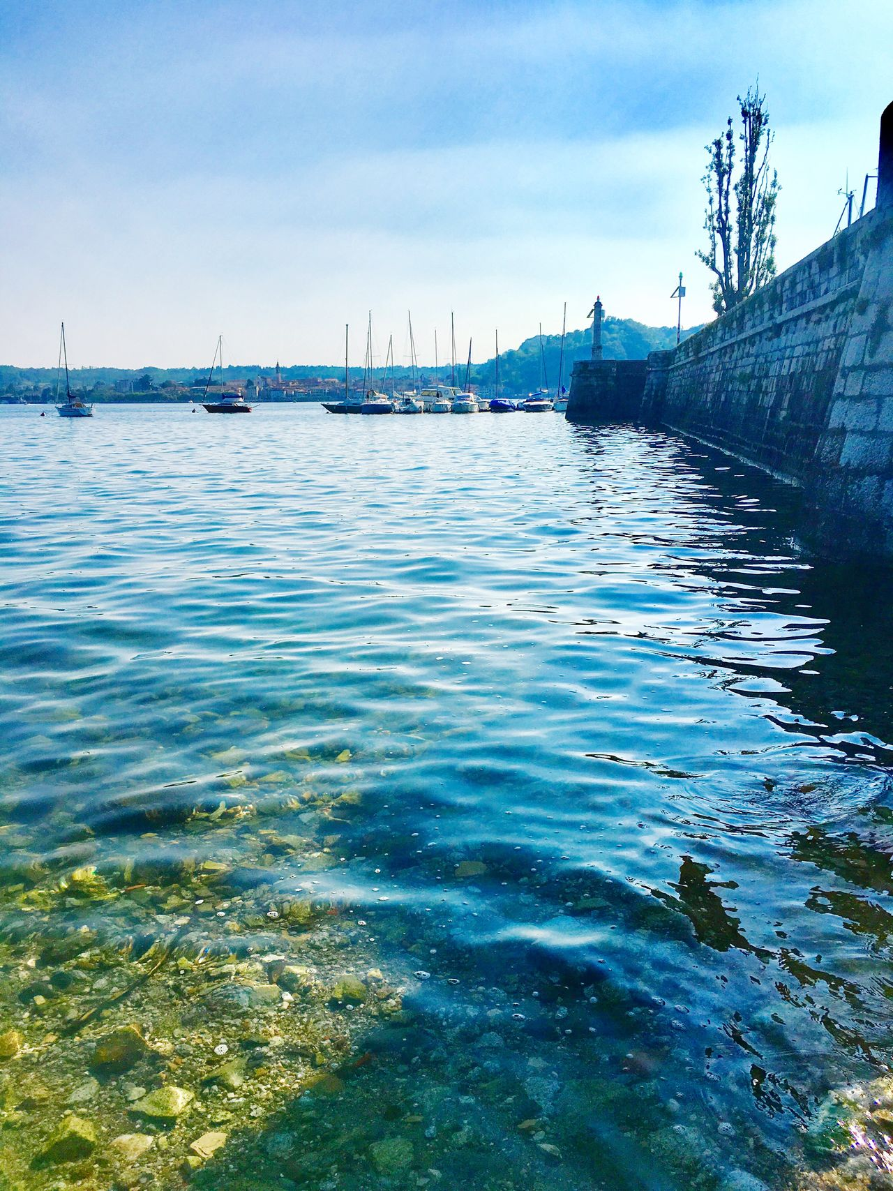 Lago Maggiore, Italy Sunny Italy Sky Water Yacht Architecture Waterfront Lake Sunny Day