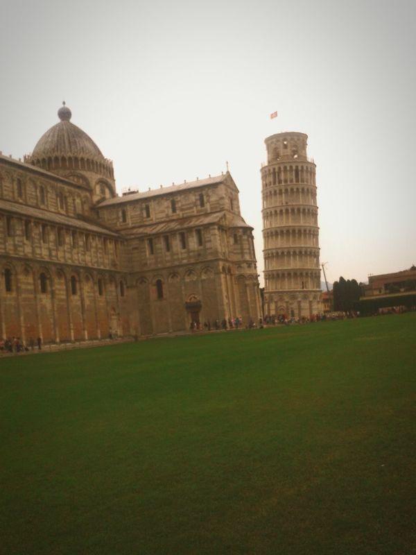 Pisa Italia Torre Pendente Di Pisa Precioso Grandioso Traveling
