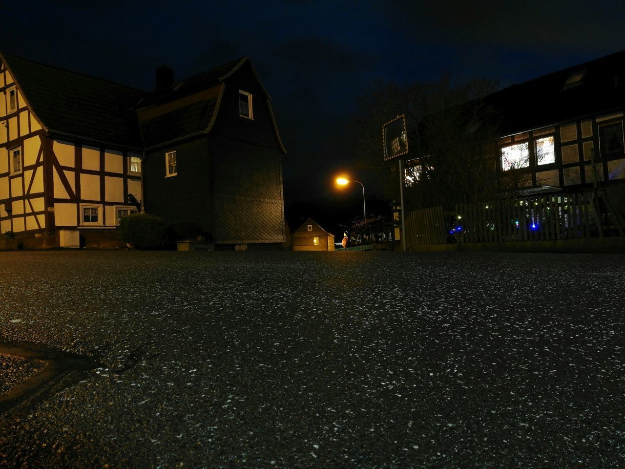 night, architecture, building exterior, built structure, illuminated, no people, house, outdoors, residential building, sky