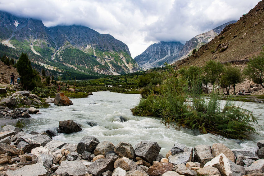 EyeEm Selects Mountain Cloud - Sky Scenics Landscape Beauty In Nature No People Travel Destinations Lake Tree Snowcapped Mountain Water Outdoors Skardu Pakistan Bashu Valley The Week On EyeEm