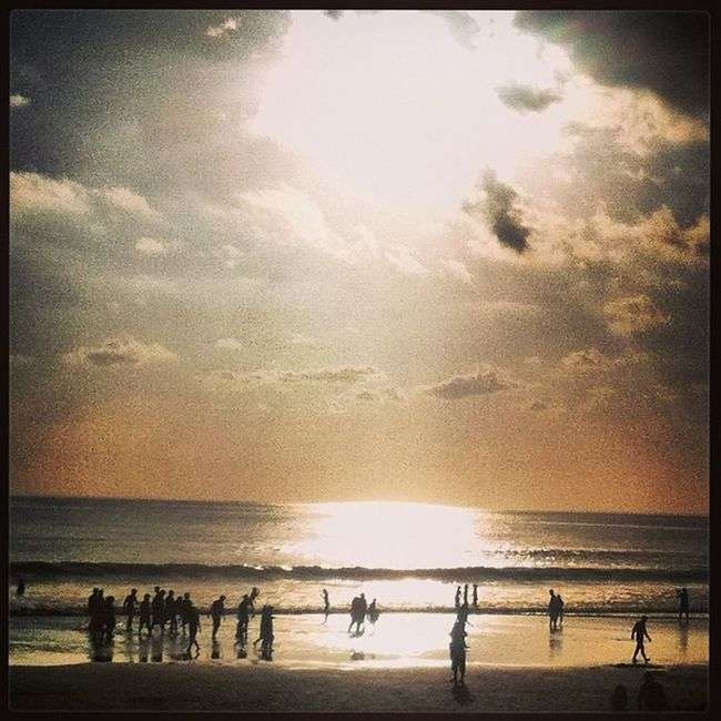 Sunset Kuta Bali Beach