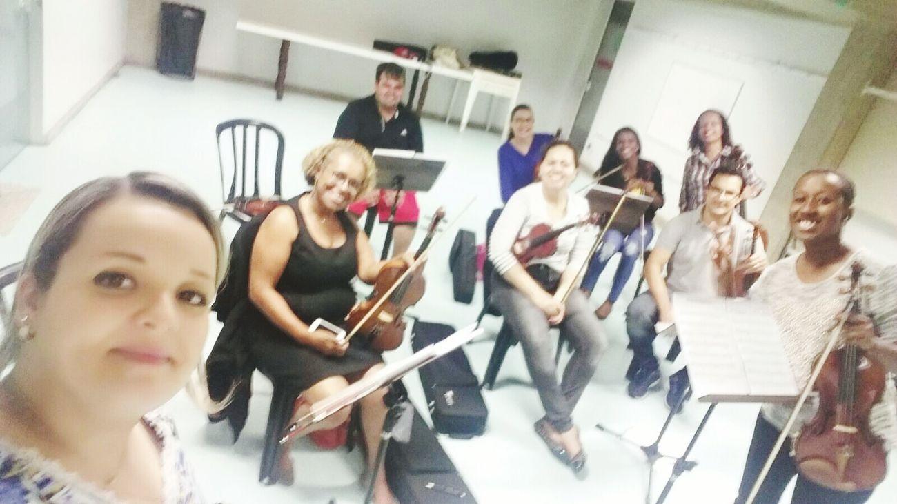 Ensaio Violinos