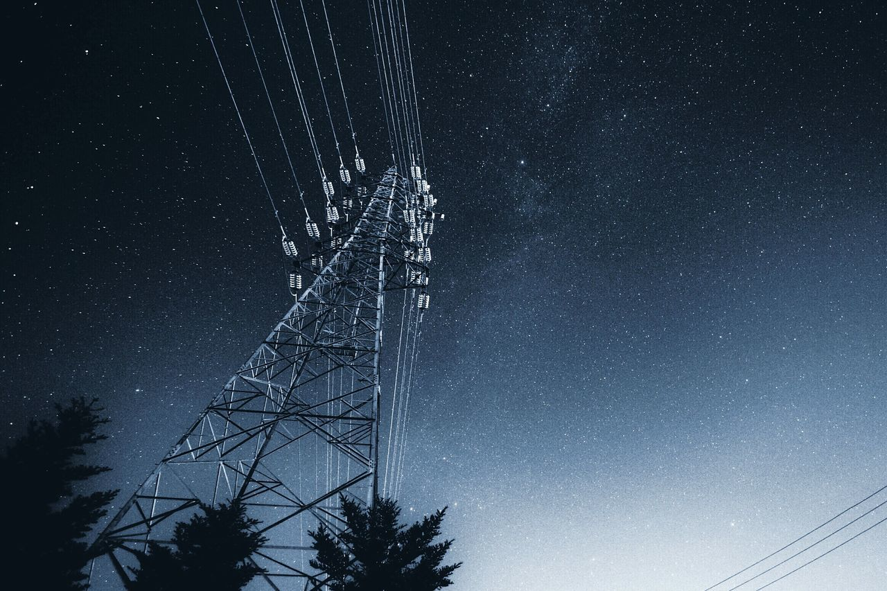 Beautiful stock photos of galaxy, Complexity, Connection, Electricity, Electricity Pylon