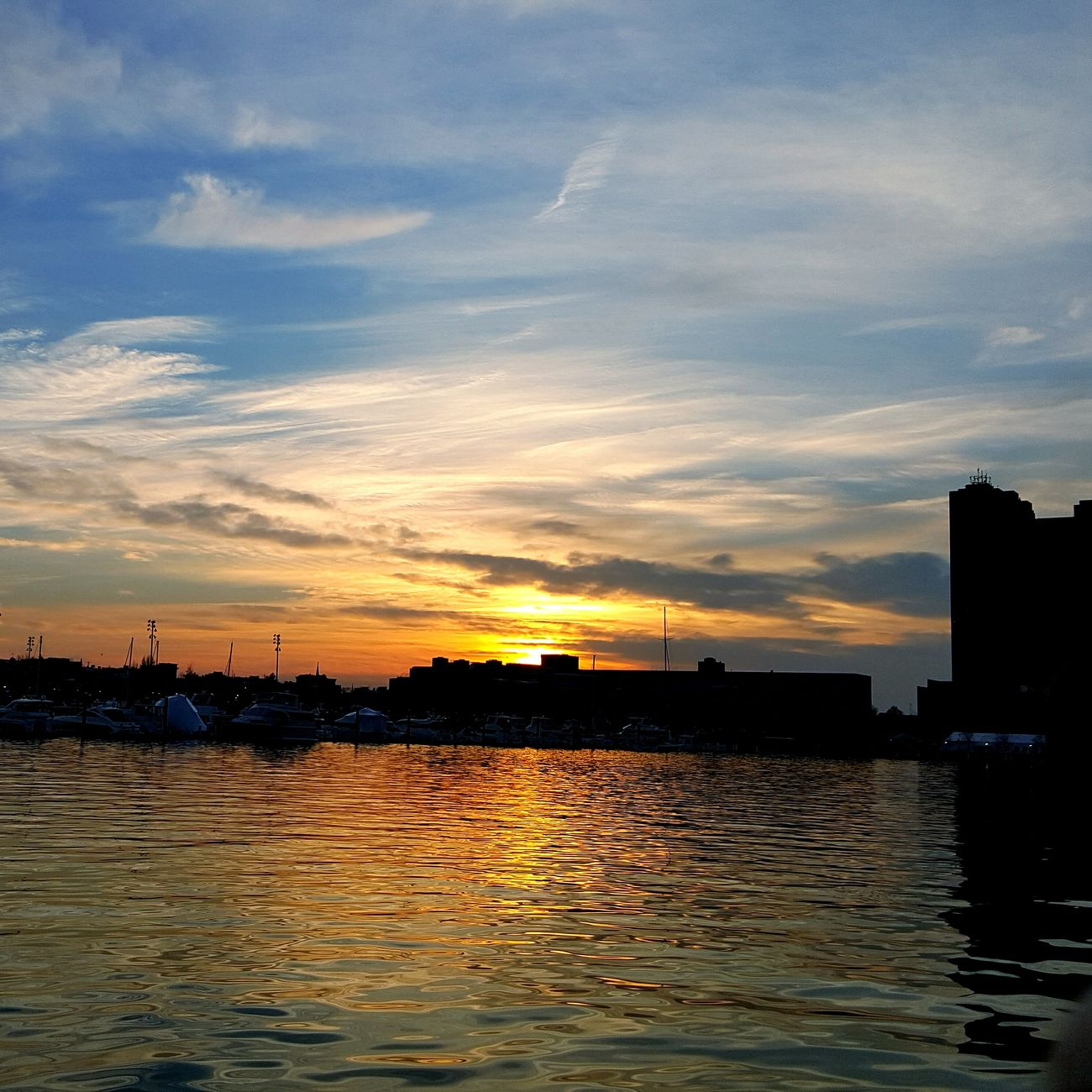 Sunset Showcase: December EyeEm Masterclass Sunset_collection AMPt_community Eye4photography  Skyporn Water Reflections Sky_collection Water_collection Popular Photos Cloudporn Sun_collection Enjoying Life Sky Sky And Clouds Skylovers at Baltimore, Baltimore City, Maryland, United States