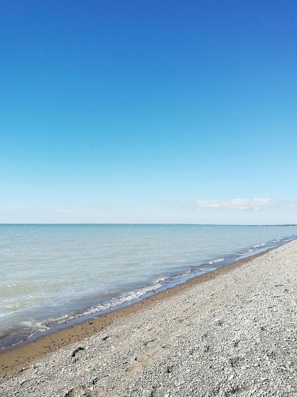 Beach Sea Sand Horizon Over Water Water Vacations Nature Sunny Summer Travel Destinations Tranquil Scene Scenics Blue Outdoors Tranquility Clear Sky Day Sky Tourism Beauty In Nature