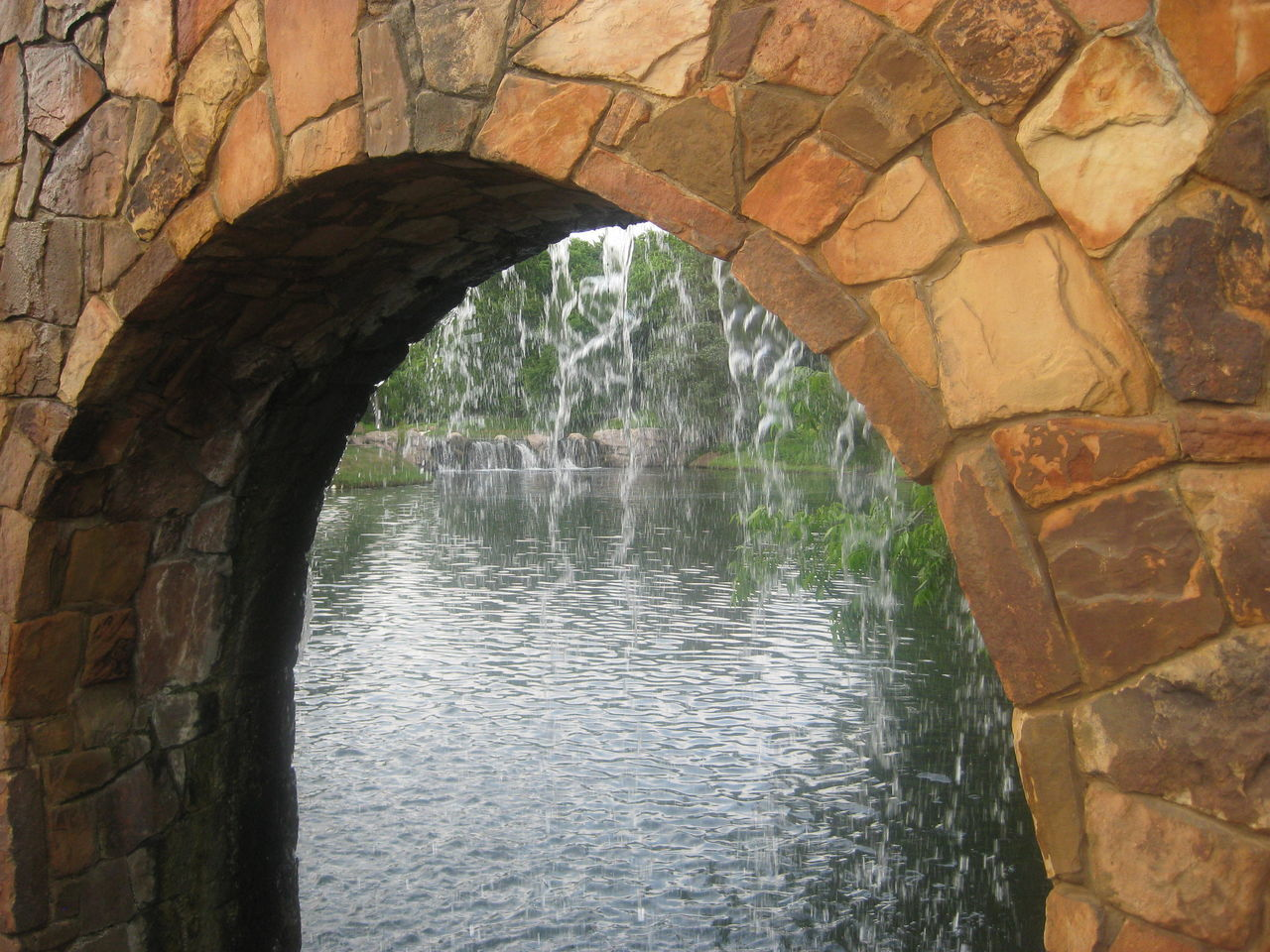 arch, water, architecture, day, built structure, no people, outdoors, nature, beauty in nature
