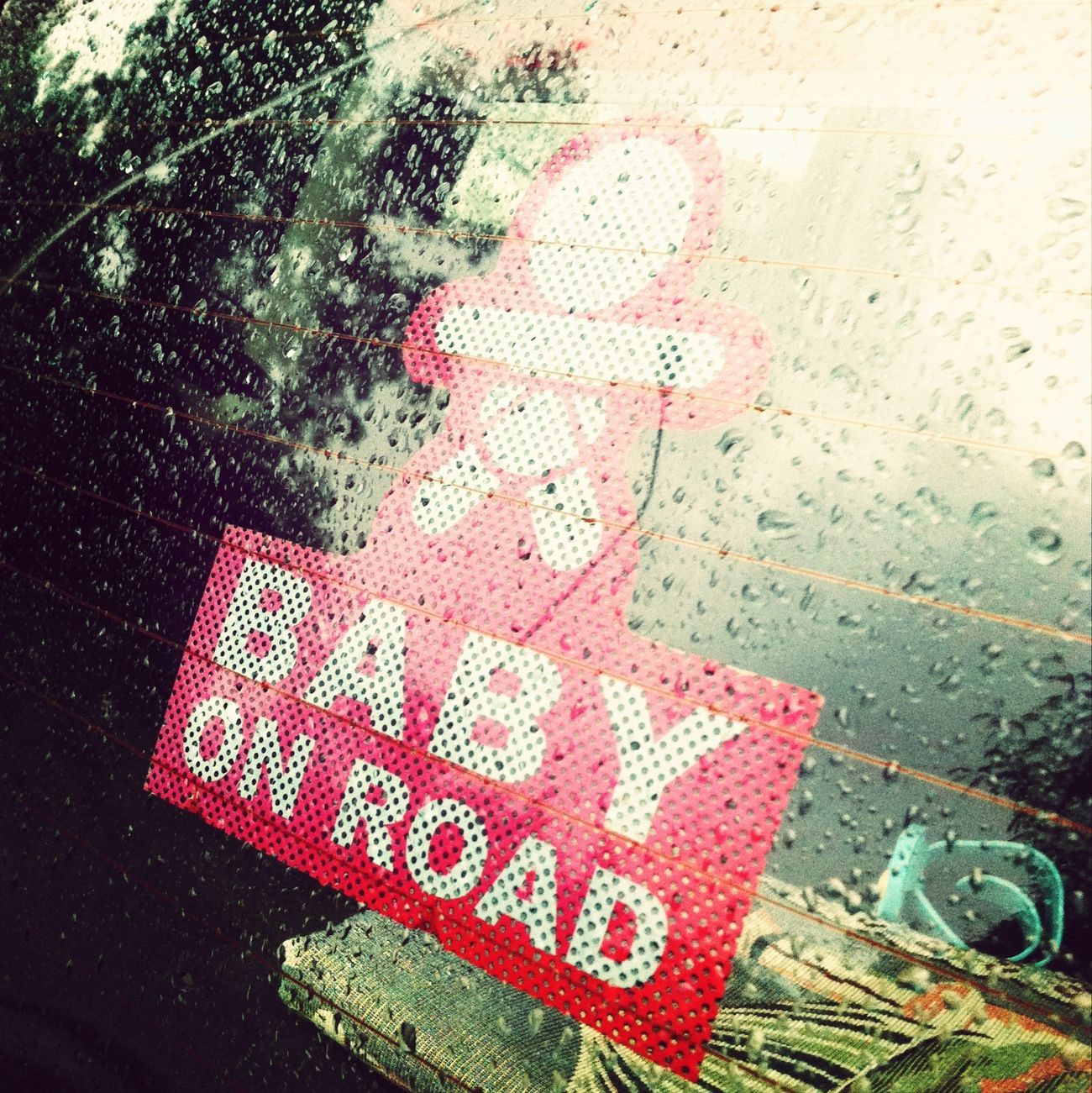 Warning.. baby on board.. please be nice..