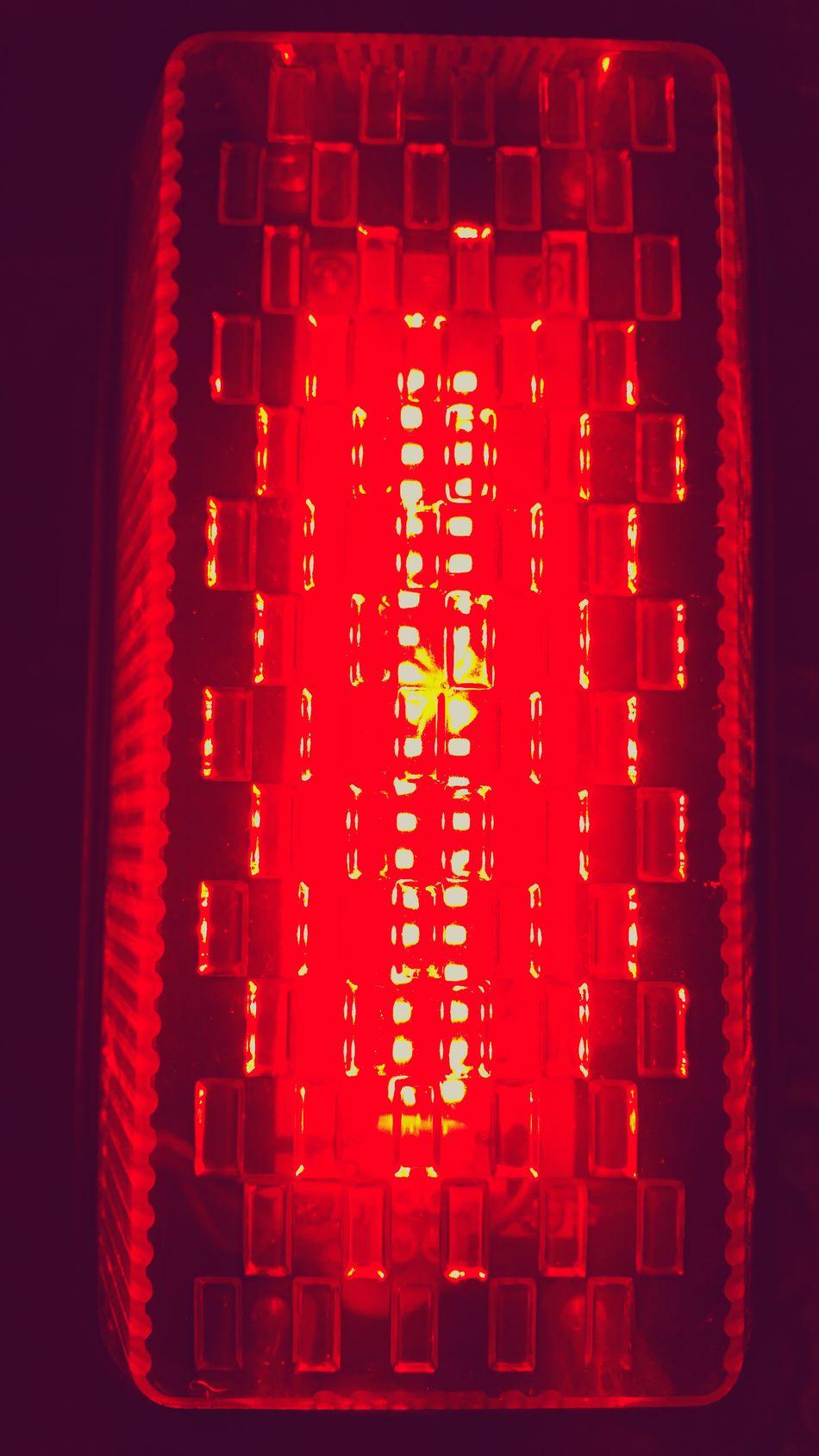 Red Light Lamp Red Light Shining Bright Colour Deep Red Red Warning Light Brake Light