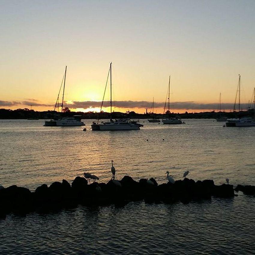 Staugustine Harbourside Harbour Cloudporn Epicsky Sunrise Boat Sailboat Florida Saltlife Saltlife_sunrise
