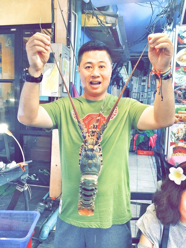 It's Me Phuket IPhoneography Iphoneonly Iphone 6 Plus Thai Restaurant Thai Food Lobster Dinner