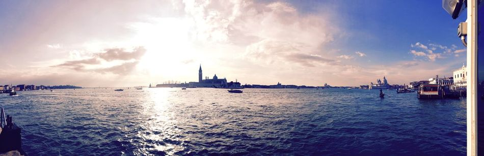 Venezia Italy❤️ Venezia Boat And Sea Voyage 180° With Old Love Travel In Italy Why I Need To  Add So Many Tag The Secret Spaces Art Is Everywhere EyeEm Diversity Travel Photography EyeEmNewHere Venice, Italy Water Mode Of Transport
