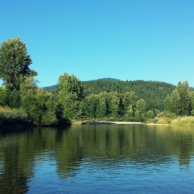 Was a rough day for a slow Float trip down the Cdariver