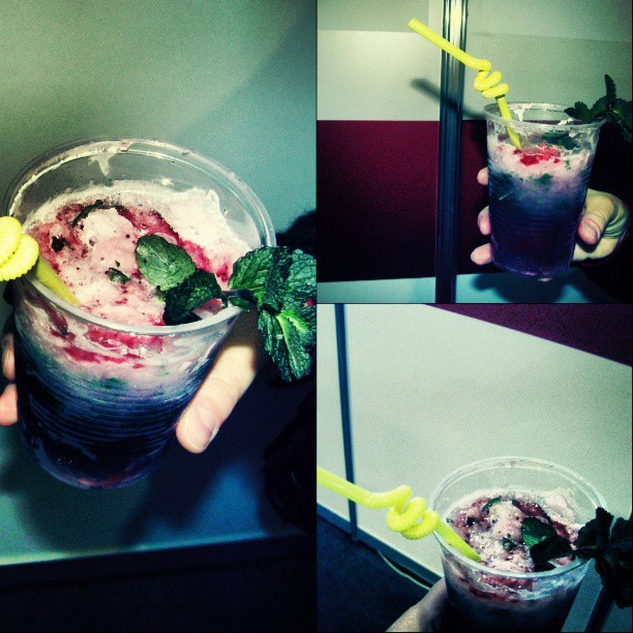 Mojito GanBei Omnomnom Drink deliciously bestgram beautiful instagram collage instagram cocktail swag