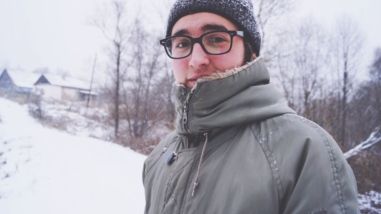 Природа улица зима январь Россия мороз January Russia Street Winter