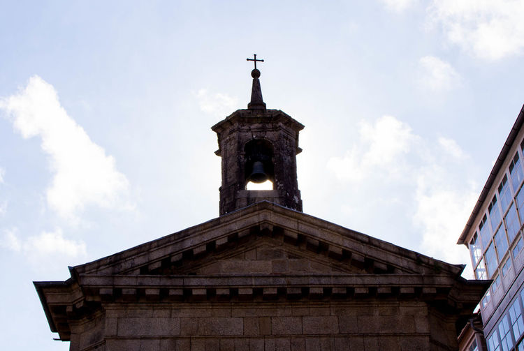 Church Architecture Backlighting Bell Tower Built Structure Catholic Church Low Angle View Religion The Week On EyeEm