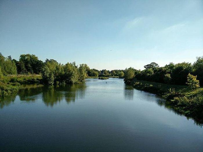 Still water, Jubilee River Mirror Nofilter Jubileeriver