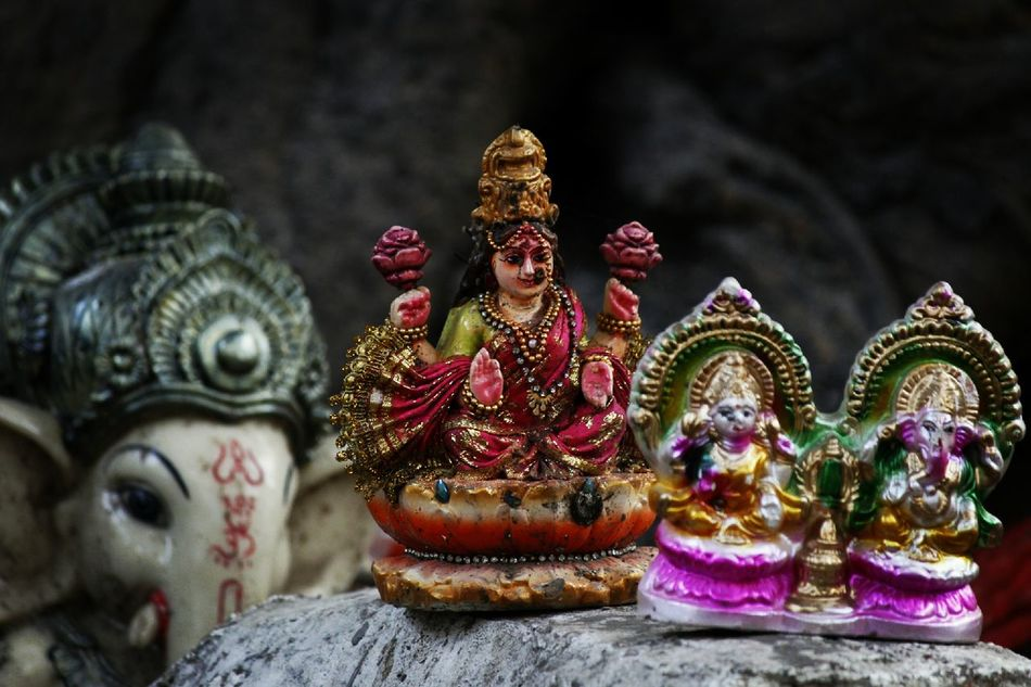 """Indian Idol"" Gods Indian Culture  Mythology Durga GanpatiBappaMorya Lakshmi Lakshmipoojan Hindu Temple Hinduisme"