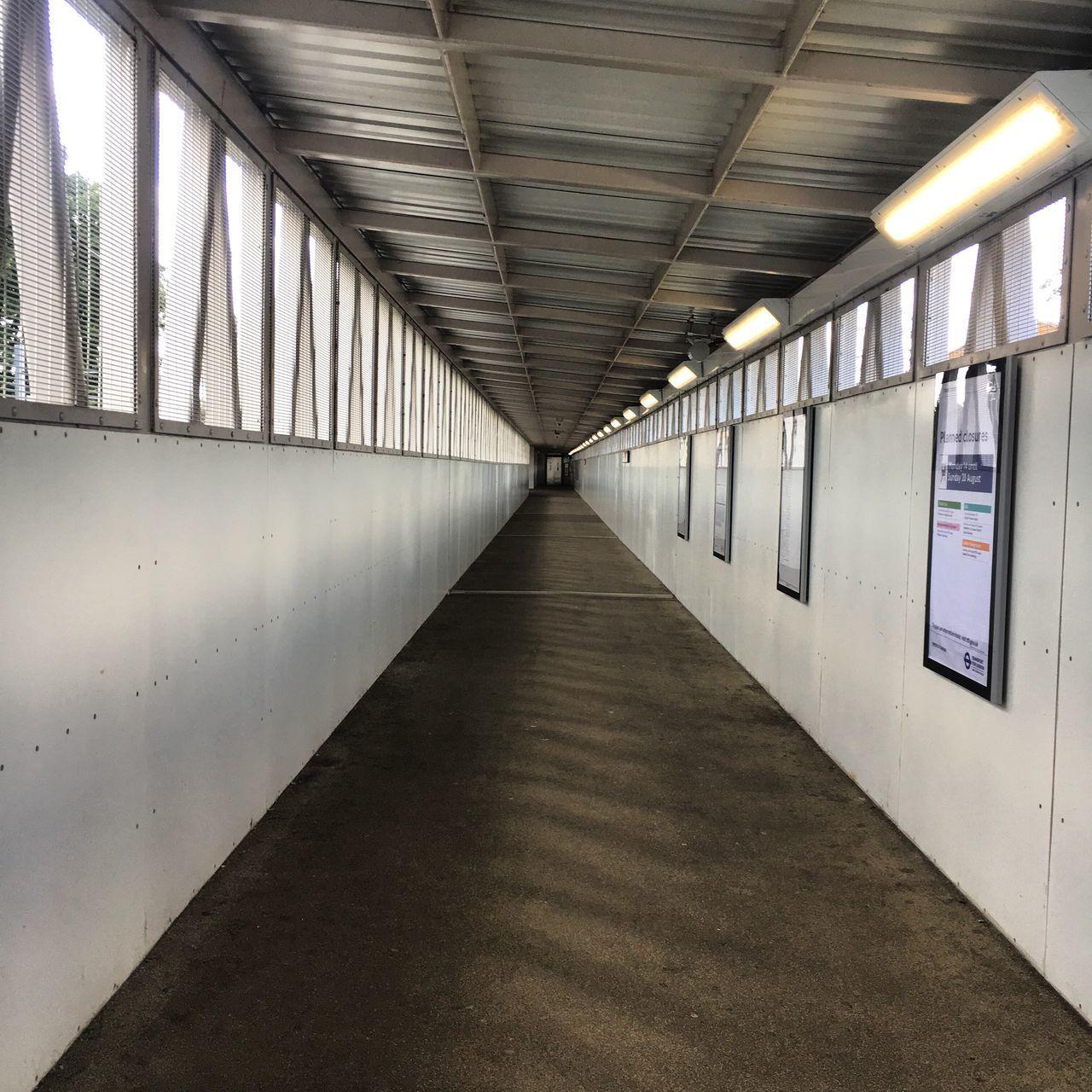 The Way Forward Tunnel Walkway Train Station London Hackney Central Hackney Downs The Week On EyeEm