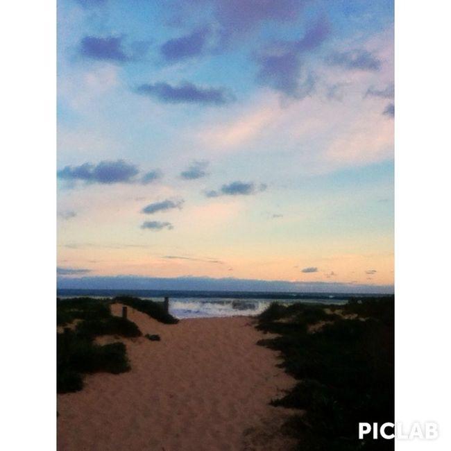 Afternoon walks on the beach ???? Enjoying Life