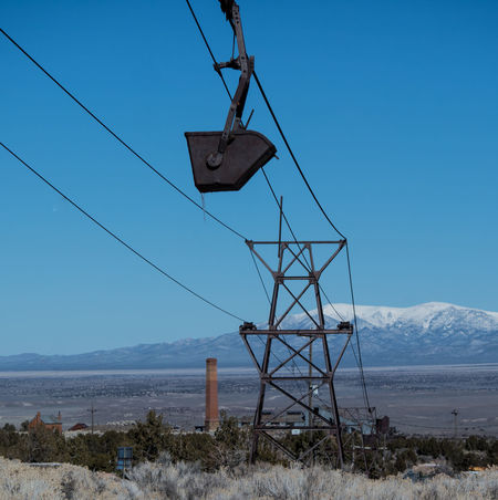 Blue Blue Sky Bucket Cable Day Frontier Industrial Industrial Landscapes Industrial Photography Industry Minecart Mountain Mountains Nature No People Outdoors Sky Smokestack Trip Winter Finding New Frontiers Finding New Frontiers Finding New Frontiers