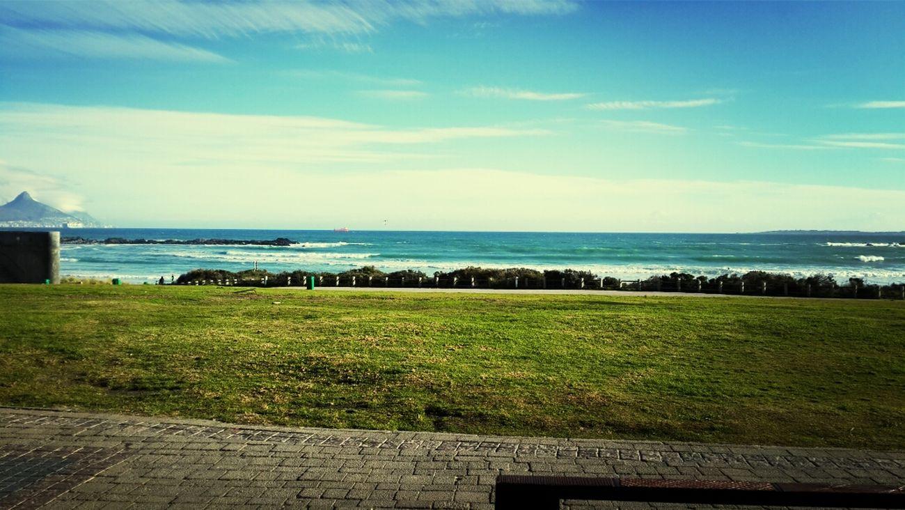 Big bay waves