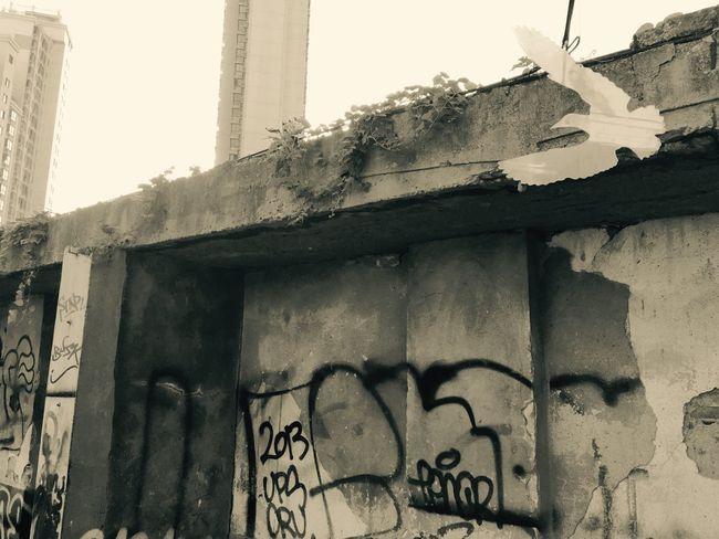 Game changer No People Reflection Graffiti Wall Sky