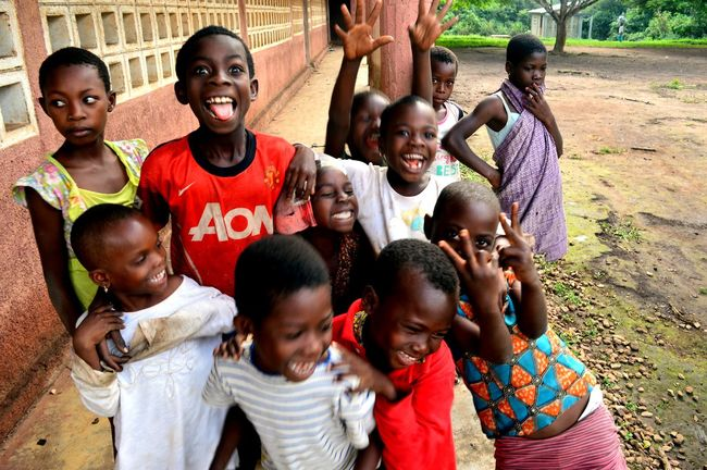 Africa African Cheerful Child Childhood Cultures School Smile Togo