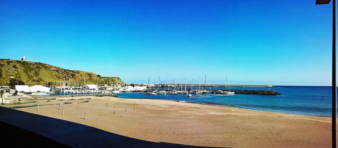 Landscape Sea Blue Sky