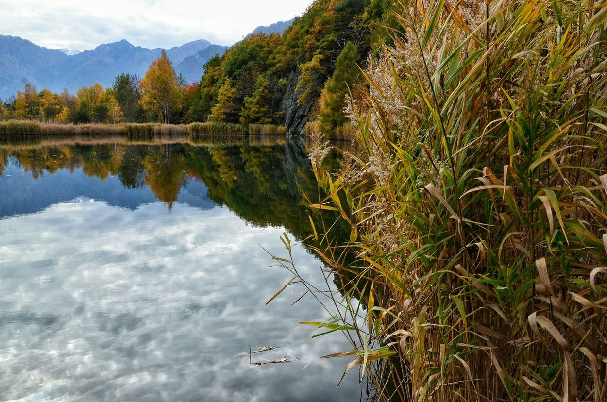 Peace And Quiet Hello World Reflection_collection Reflection Water Reflections EyeEm Nature Lover Beautiful Nature EyeEmBestPics EyeEm Best Shots - Nature Landscape_photography Landscape_Collection Nature_perfection EyeEm Gallery Taking Photos Lake Lake View Aostavalley Mountains Autumn Colors Autumn Collection Autumn Valle D'aosta