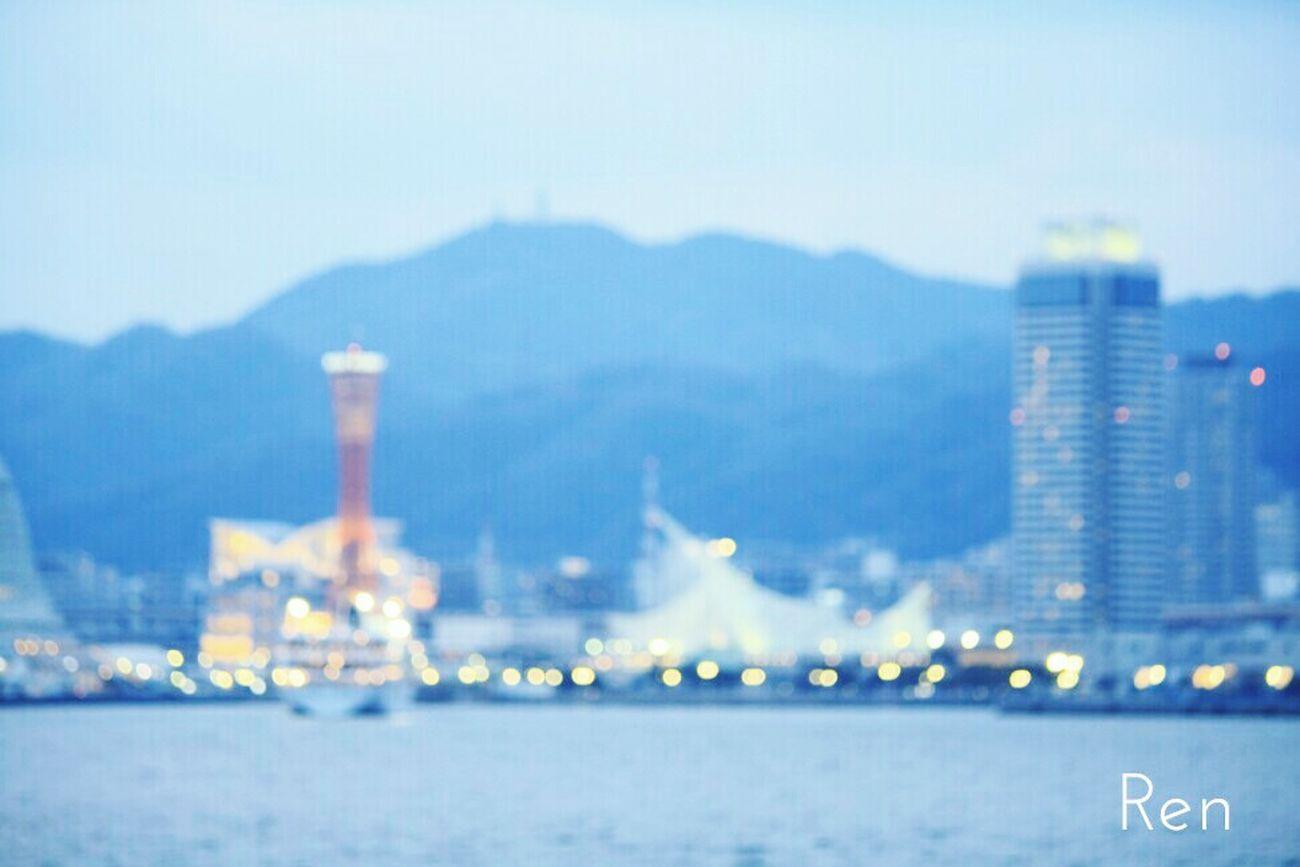 Sea And Sky Sea Seaside Kobe-shi,Japan Building Bokeh Bokeh Lights Bokehlicious Photography Bokeh Photography Bokeh Balls