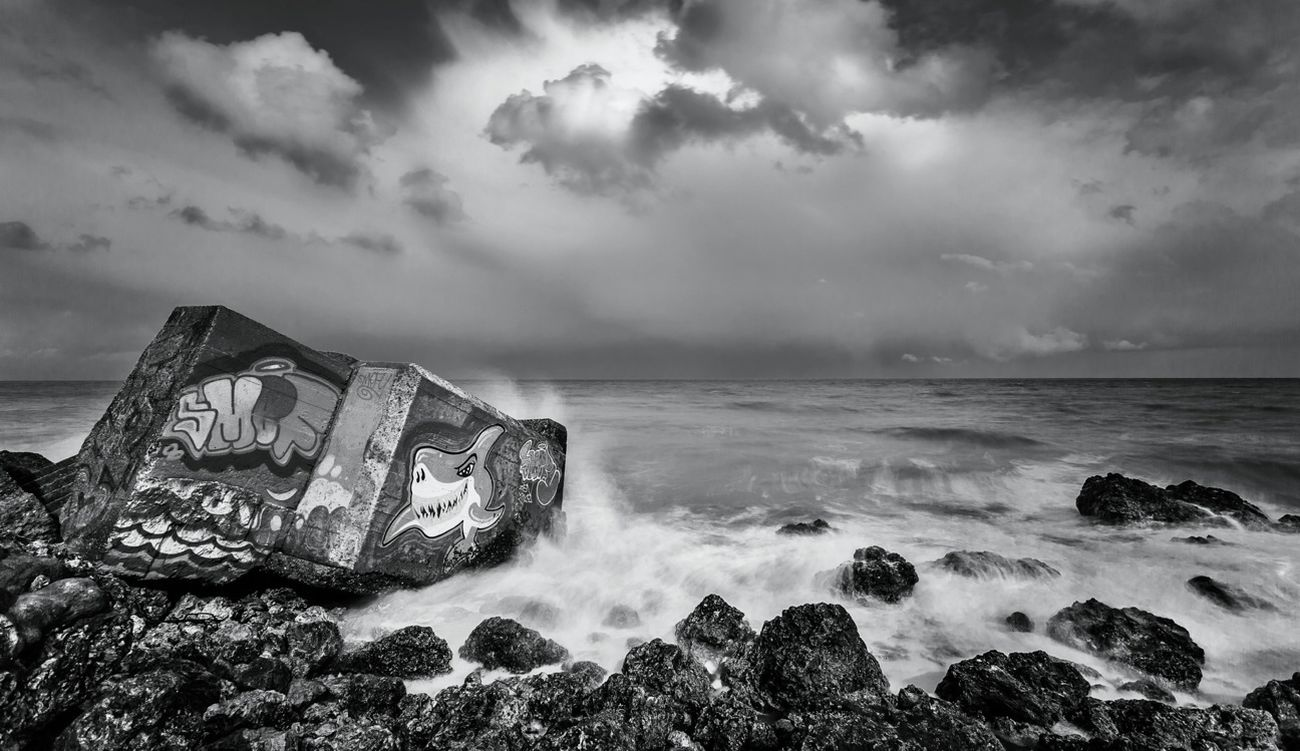 Blackandwhite Landscape Seascape Normandie